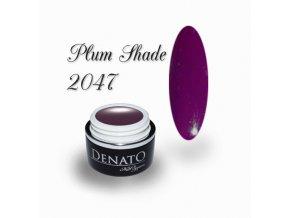 2047 Plum Schade, barevný UV LED gel, fialový