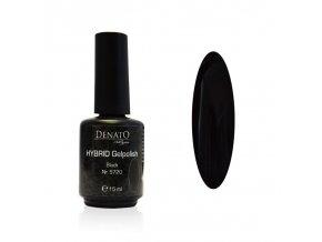 5720 Hybrid Gelpolish Black černý uv led gel, 15 ml