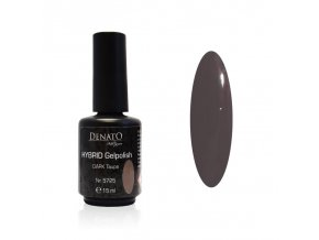 5725 Hybrid Gelpolish Dark taupe hnědý uv led gel, 15 ml