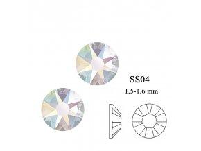 9102 Swarovski Crystal AB SS04