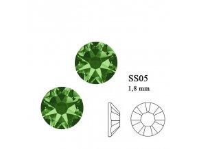 9207 Swarovski Fern green SS05