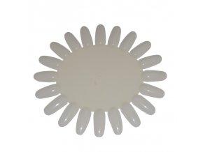 Vzorník na nehty kulatý plastový