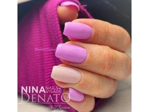 5739 Hybrid Gelpolish pastel violet fialový uv led gel, 15 ml