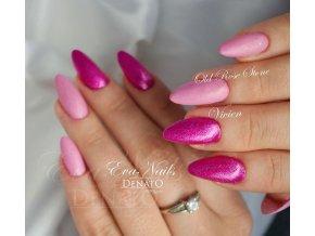 3050 STONY Old Rosé barevný UV LED gel růžový