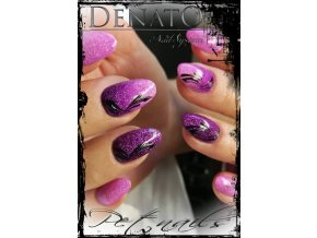 3047 STONY Violet barevný uv led gel fialový