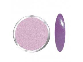 1701 Pink, glitrový fialový polymer