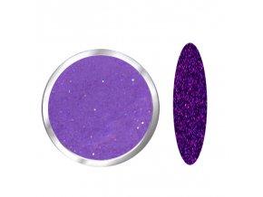1704 Indigo Diamond, glitrový fialový polymer