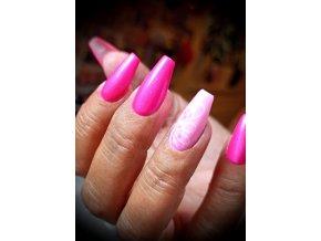 2524 FLOP Magenta Violet, barevný uv led gel růžový