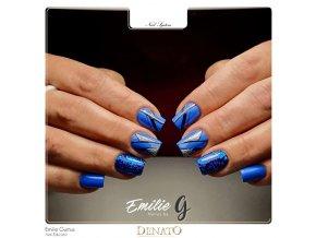 2050 Navy Blue, barevný UV LED gel, modrý